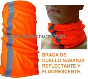 Braga-buf fluorescente y reflectante