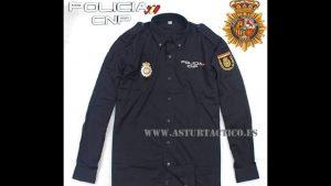 Polo camisa Policia Nacional