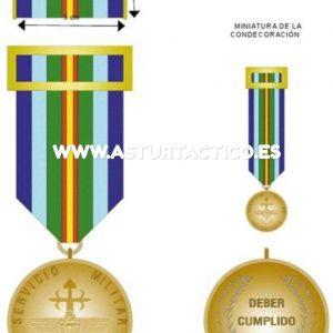 Medalla servicio militar oblligatorio