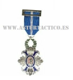 CRUZ DE LA ORDEN AL MERITO CIVL (medalla)
