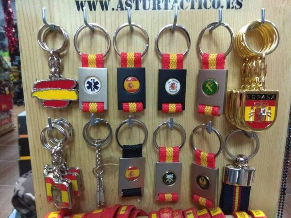 Llaveros, España y varios modelos