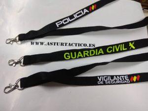 Lanyard Policia, Guardia Civil m etc...