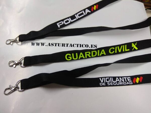 Lanyard Policia, Guardia Civil m etc...