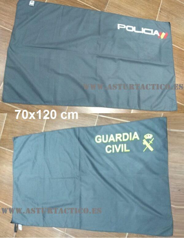 Toalla Guardia Civil, Policia Nacional, Vigilante de seguridad, Ejercito, etc...