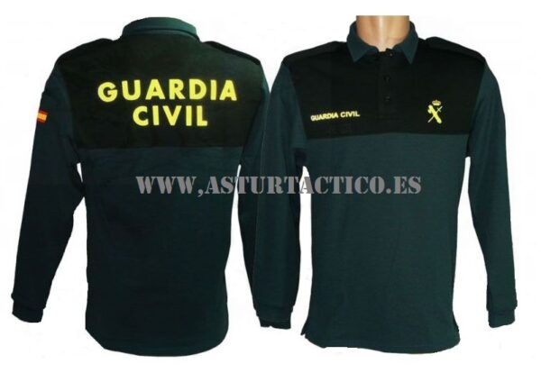 Polo Manga larga Guardia Civil