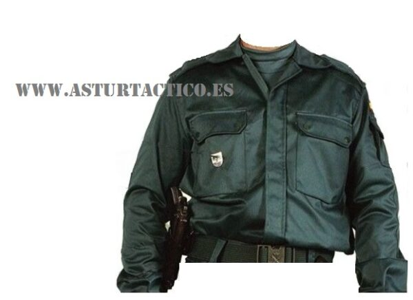 Chaqueta de campaña para Guardia Civil