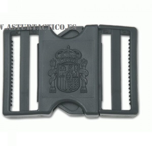 Hebilla policial con escudo Constitucional
