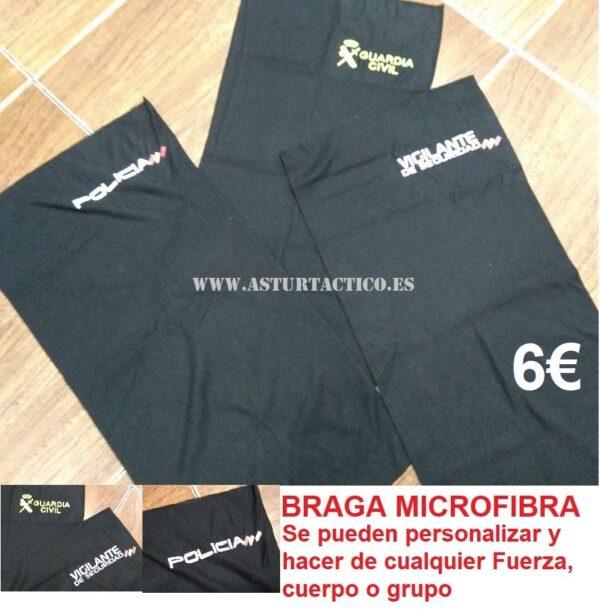 Braga microfibra