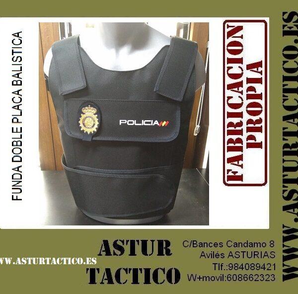 Funda de chaleco para uniformidad de Policia Nacional / CNP