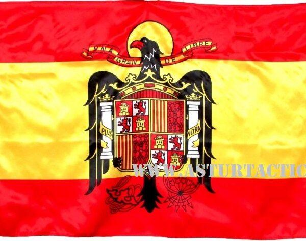 BANDERA DE ESPAÑA CON AGUILA