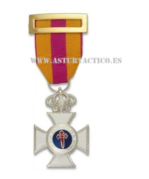 Medalla a la Constancia en el servicio de plata