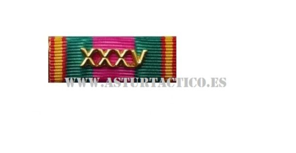 Pasadro Dedicacion Policial XXXV años
