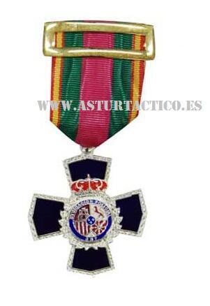 Medalla dedicacion policial XXV