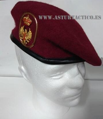 Boina Regimiento de Infanteria n1 inmemorial del Rey