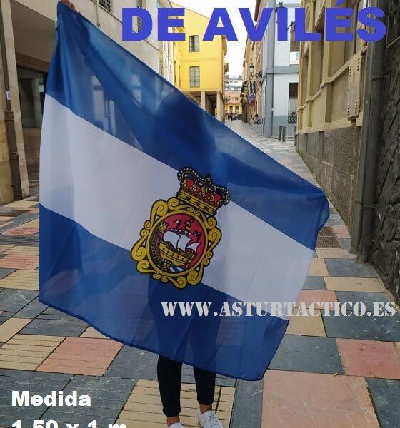Bandera de Avilés