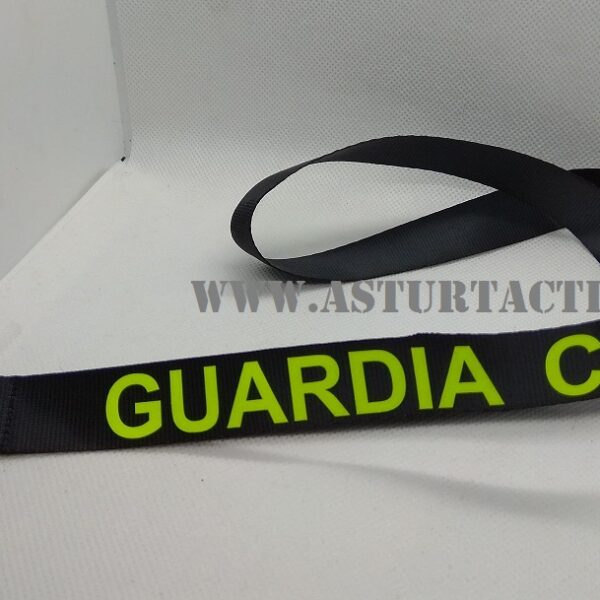 lanyard, llavero, colgador Guardia Civil