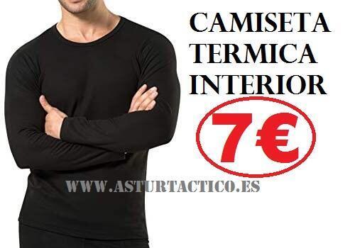 CAMISETA TERMICA INTERIOR PERFECTA PARA UNIFORMES