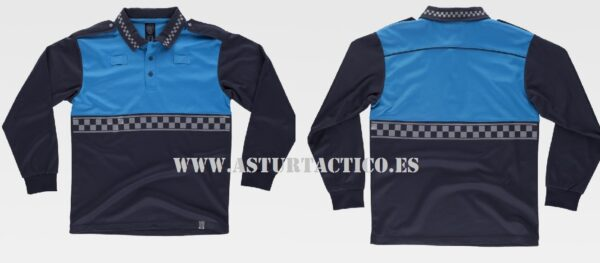 POLO UNIFORMIDAD POLICIA LOCAL (AZUL)