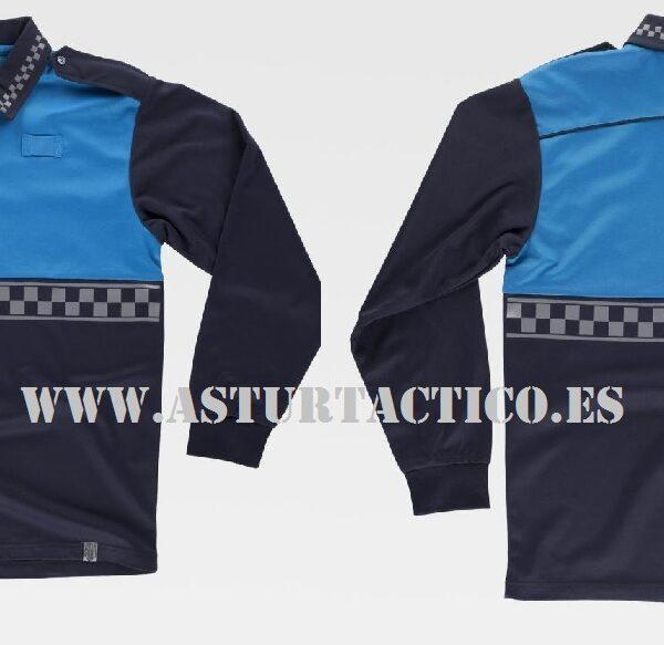 POLO UNIFORMIDAD POLICIA LOCAL (AZUL)