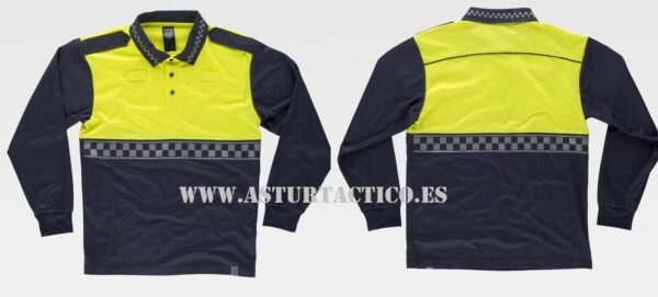 POLO UNIFORMIDAD POLICIA LOCAL (PERSONALIZABLE)