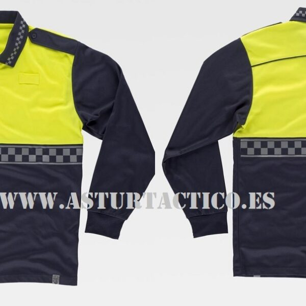 POLO UNIFORMIDAD POLICIA LOCAL (PERSONALIZABLE)