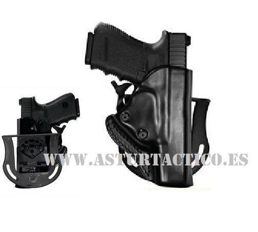 FUNDA DE PAISANO CON ANTIHURTO PARA H&K USP Compact