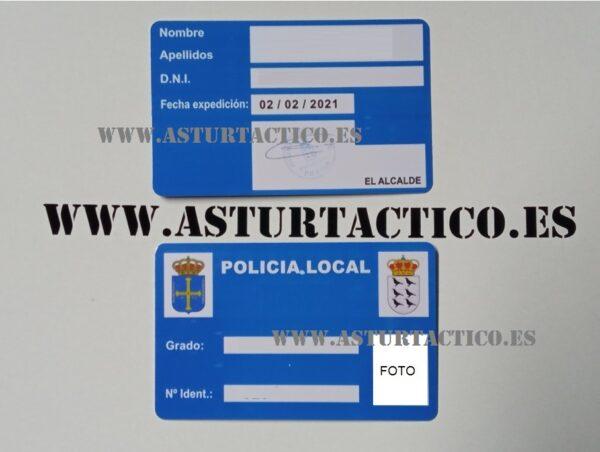 CARNET POLICIA LOCAL / MUNICIPAL