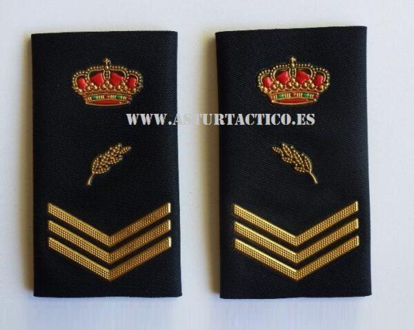 Hombrera divisa oficial de policia , Cuerpo NAcional de Policia