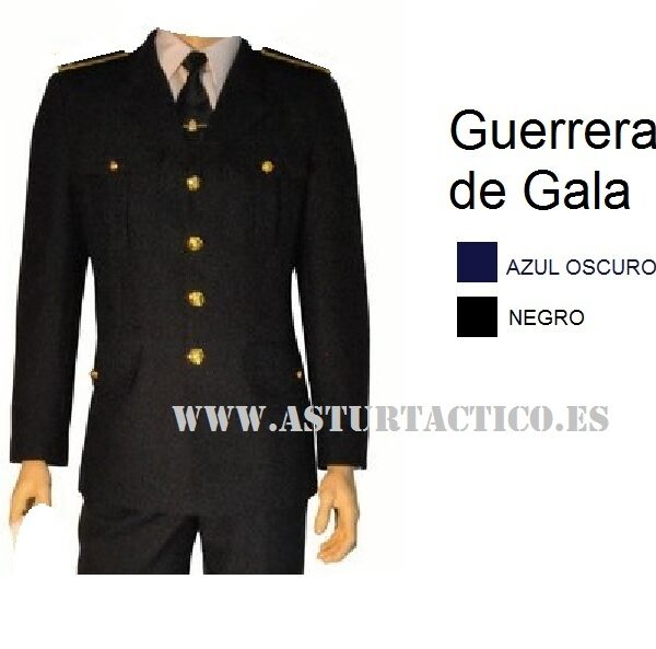 UNIFORME GUERRERA DE GALA POLICIA LOCAL