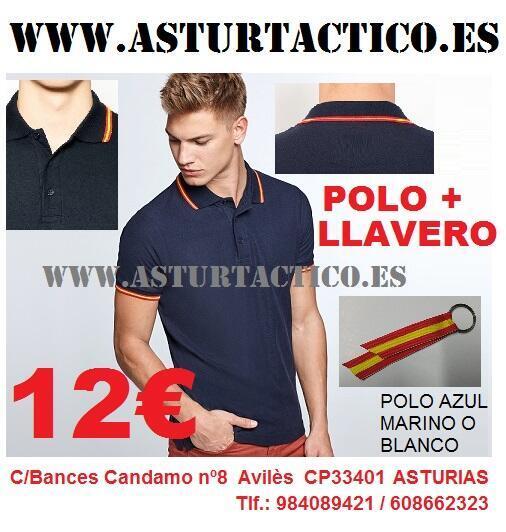 Polo de España + llavero