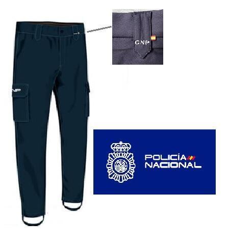 PANTALON POLICIA NACIONAL CNP